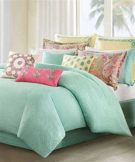mint green comforter coral and mint green bedding pictures reference