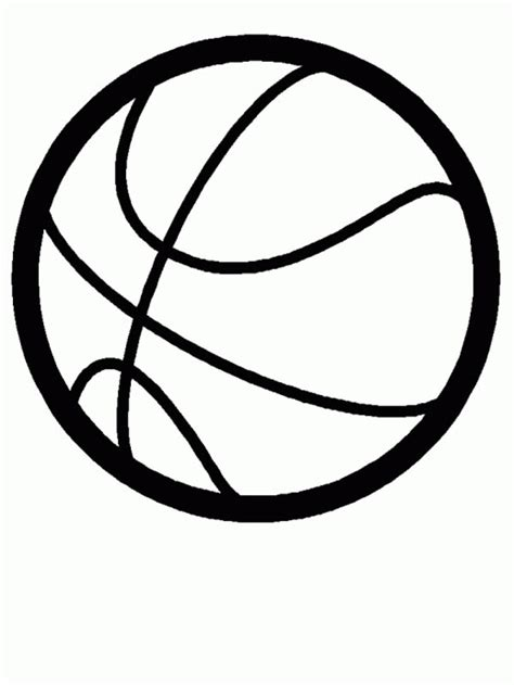 Coloring Balls by A Shape Of Basketball Coloring Page Free