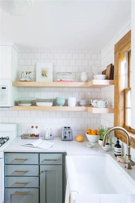 kitchen shelf design 10 lovely kitchens with open shelving 2531