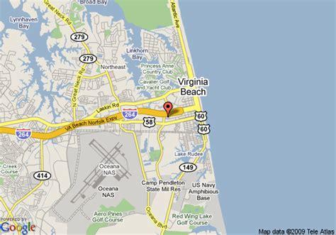 sandbridge beach virginia visit virginia beach map