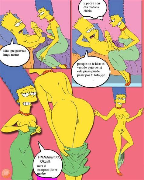 Los Simpsons Bart Y Hugo Se Follan A Marge Y Lisa