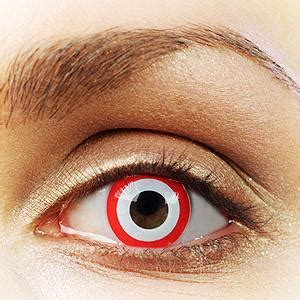 target colored contacts target contact lenses bullseye contact lenses rainbow