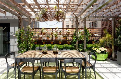 rooftop garden deck contemporary  terrariums