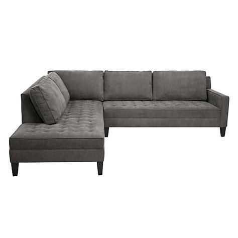 z gallerie pierce sofa 2 piece sectional sofa vapor collection z gallerie