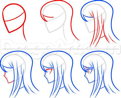 How To Draw Sayaka From Danganronpa, Step By Step, Anime