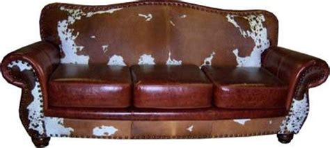 Cowhide Leather Sofa by 20 Best Collection Of Cowhide Sofas Sofa Ideas