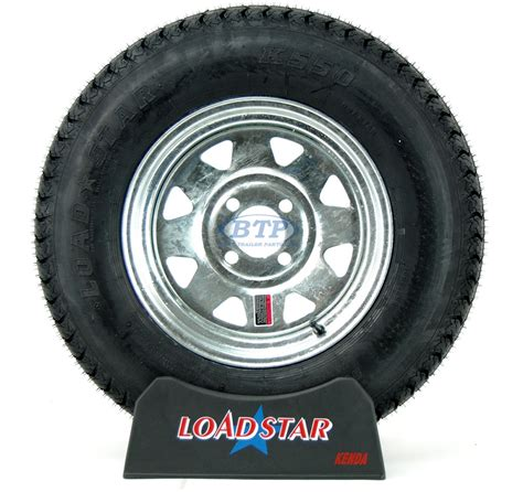 13 Inch Boat Trailer Wheels And Tires by Boat Trailer Tire St175 80d13 On Galvanized Wheel 4 Lug