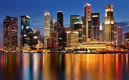 Singapore Night Desktop Pc Mobile Phones Wallpapers13