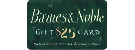 barnes and noble card win a 25 barnes noble gift card 2 winners ends july