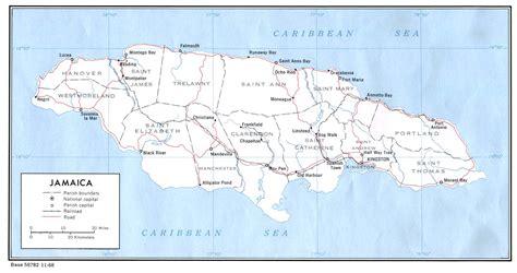 river map jamaica