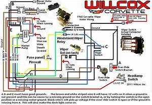 1976 Corvette Wiper Switch Wiring Diagram