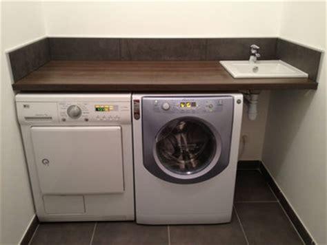installer plan de travail sur machine a laver buanderie cuisine civallero plomberie chauffage r 233 novation artisan plombier chauffagiste 224