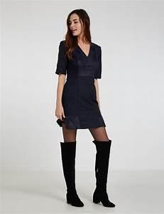 robe imprimee jacquard effet cuir morgan robe morgan With robe morgan pas cher