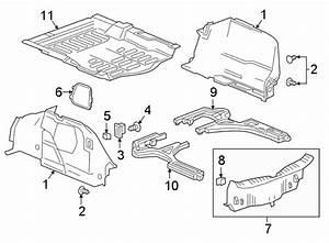Chevrolet Cruze Trunk Trim Panel  Sedan  Trunk Compartment
