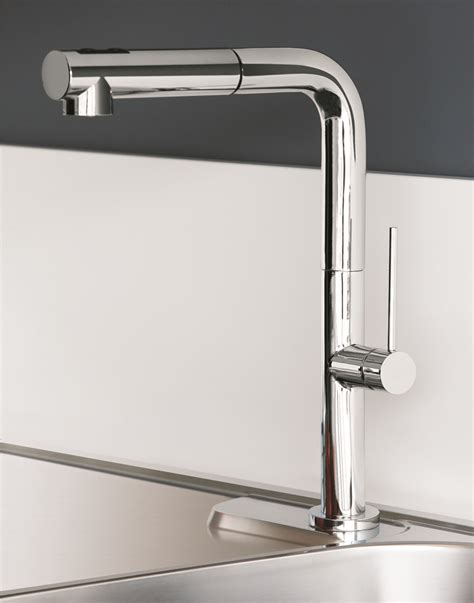 kitchen faucets contemporary chrome modern kitchen faucet with pull out dual shower