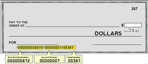 parts of a check routing number dd dc questions and answers