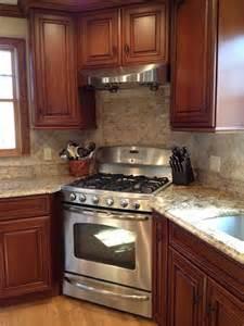 kitchen  stove corner