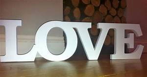 extra large love white wooden letters letters wedding With oversized letters for wedding