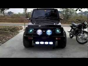 maruti gypsy king black hawkz modified navi rana - YouTube