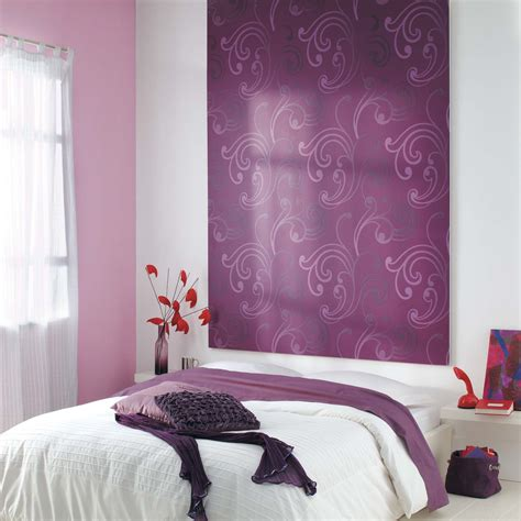 tapisserie de chambre chambre à coucher galerie tendance