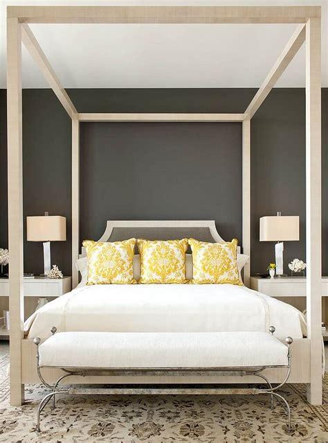 grey  yellow bedroom design ideas  cozy