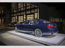 BMW team celebrates the launch of the Individual 7 Series