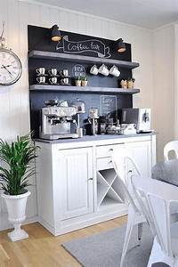 Cafe Bar Zuhause : forget your day designer this coffee bar command center ~ Watch28wear.com Haus und Dekorationen