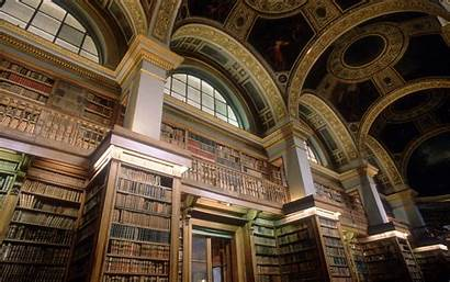 Library Background Wallpapers Wall