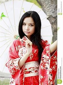Kimono, Girl, Royalty, Free, Stock, Images