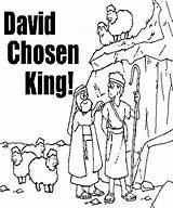 David Coloring Shepherd King Pages Boy Chosen Mephibosheth Absalom Boys Kidsplaycolor Sheets Play Bible Craft Popular Template sketch template