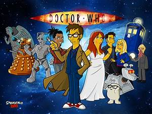 Springfield Punx: Doctor Who (Tennant) Wallpaper