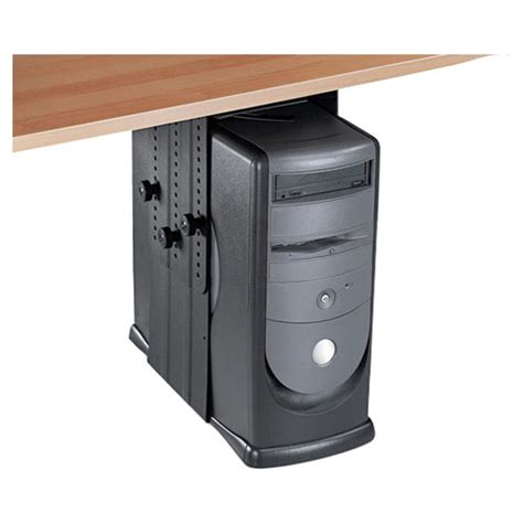 support pour ordinateur sous le bureau de fellowes