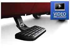 amp research 75406 01a side mounted bed step 2 for dodge