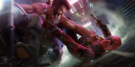 deadpool wolverine vs crossover movie game xmen count concept yet cable loudmouthed raring go dont parables visual character universe don