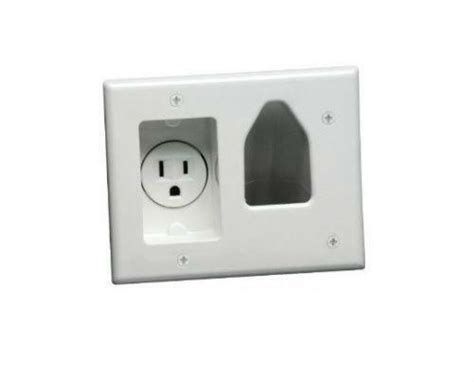 Tv Plate Cable Tv Wall Plate Ebay