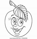 Coloring Symbol Emoji Clip Pages Rockhound Uncolored Cartoon Template Sketch Apple Happy Drawing Fruit sketch template