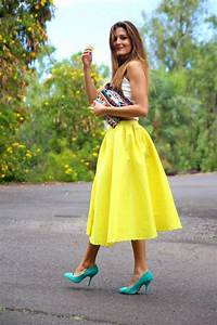 Fashionable Outfits Of How To Wear Midi Skirt This Season - All For Fashions - fashion beauty ...