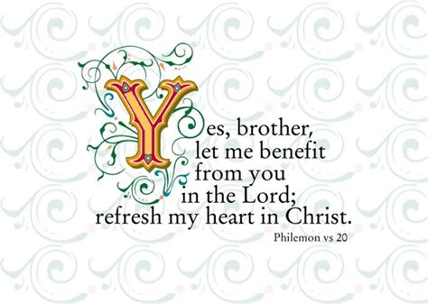 Yes, Brother | Philemon, Book of titus, Christian friendship