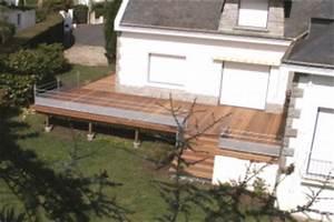 terrasses en hauteur galerie photos With terrasse en bois en hauteur