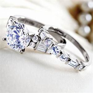 Amorosa ring set w5929 stauercom for Stauer wedding rings