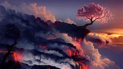 Amazing Wallpapers Fantasy Landscape Abstract Pixelstalk