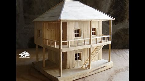 how to build a house how to a wooden model house