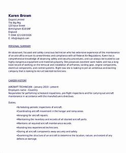 assembly technician resume resume templates aircraft With aircraft mechanic resume template
