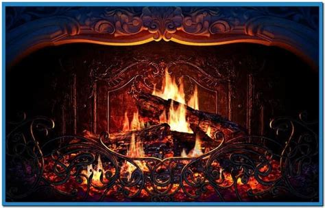 Fireplace Wallpaper Animated - animated fireplace
