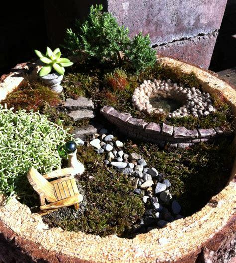 Stein Deko Für Garten by Deko Bastelideen Reizvollen Mini Garten Kreieren
