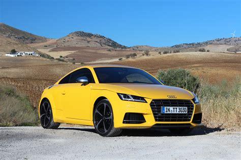 Audi Tts Coupe Backgrounds by 2016 Audi Tt Tts Drive Review