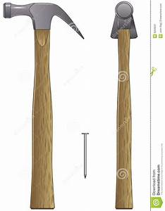 Hammer And Nail Stock Image - Image: 6264631