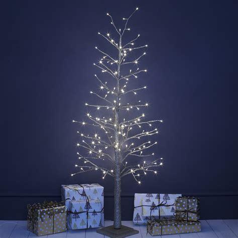 white lighted christmas trees chagne gold indoor led christmas tree primrose plum 5528