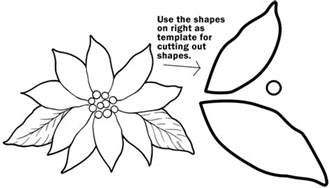 HD wallpapers poinsettias coloring page