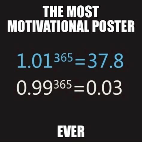Motivational Memes - the most motivational poster 365 378 099365 003 ever